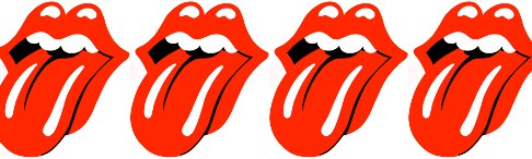 Le logo des Rolling stone